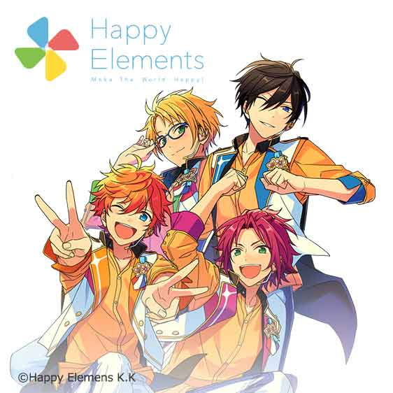 Happy Elementsグループ